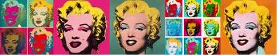 Marilyn, Andy Warhol, pop art