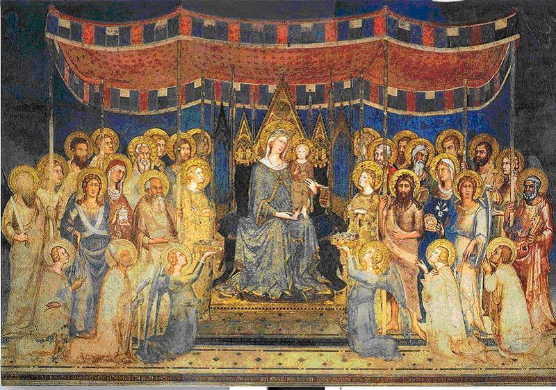 Madonna in Maestà, Simone Martini