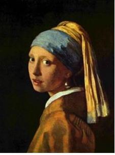 Vermeer, Ragazza, turbante, orecchino