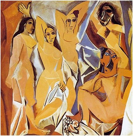 Picasso, demoiselles, Avignon, cubismo