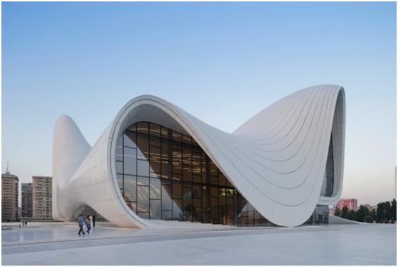 Heydar Aliyev Cultural Centre di Baku