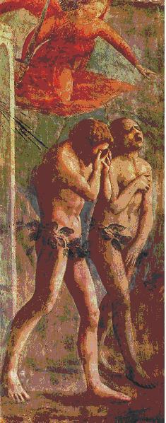 Masaccio, Eva, Adamo, Umanesimo, Cacciata