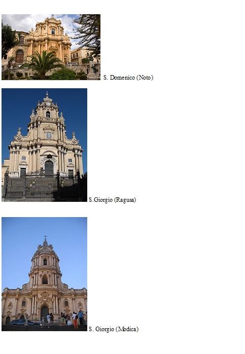Sicilia, barocco, S. Domenico, S. Giorgio, Modica