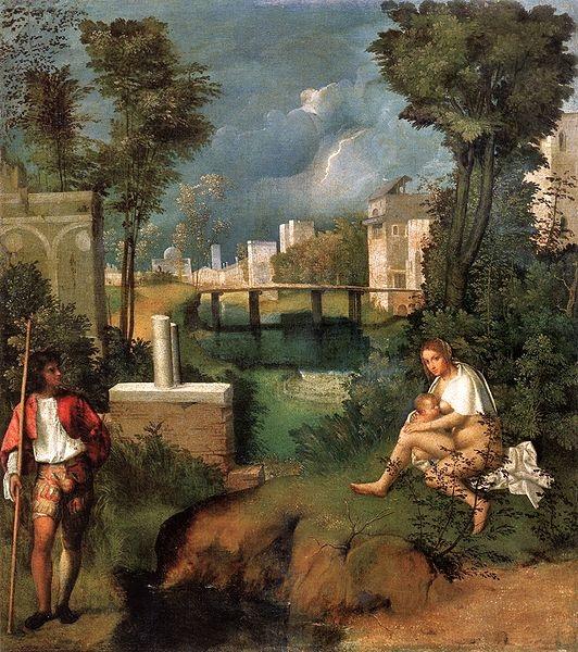 paesaggio Tempesta, Giorgione