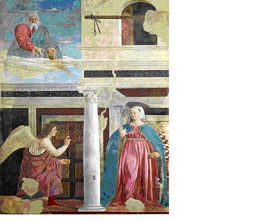 Piero della Francesca, opere, Annunciazione