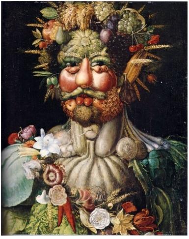 Arcimboldo, Rodolfo II, Vertunno