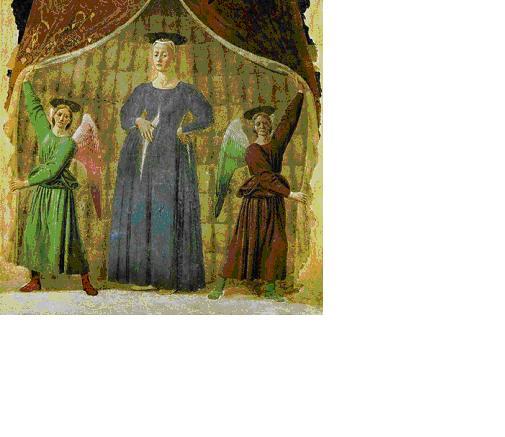 Piero della Francesca, opere, Madonna del Parto