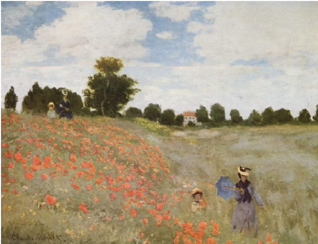 papaveri, Monet