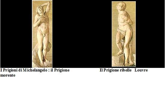 Prigioni, Michelangelo, Louvre